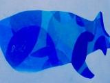 ジンベエザメの絵…