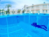リゾートな雰囲気のプール