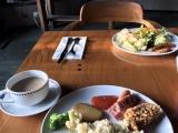 朝食はビュッフェ