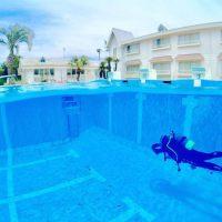 ダイビング専用プール