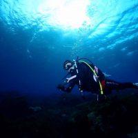 透明度100mな海