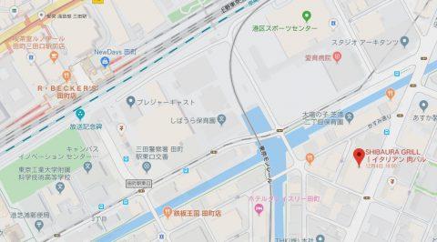 芝浦グリルmap